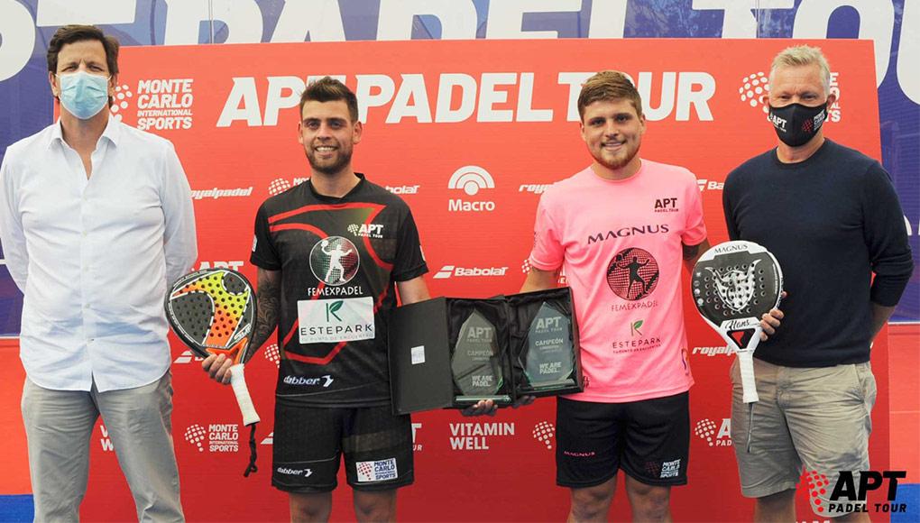 Federico Chiostri y Gonzalo Alfonso, campeones del Lisboa Open