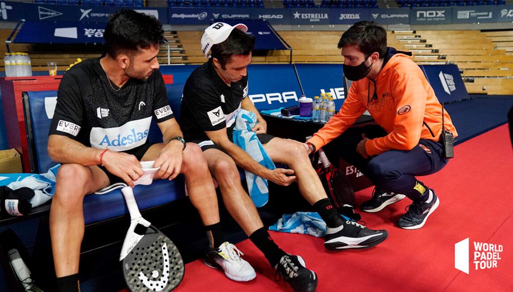 Fernando Belasteguín se perderá las próximas citas del World Padel Tour