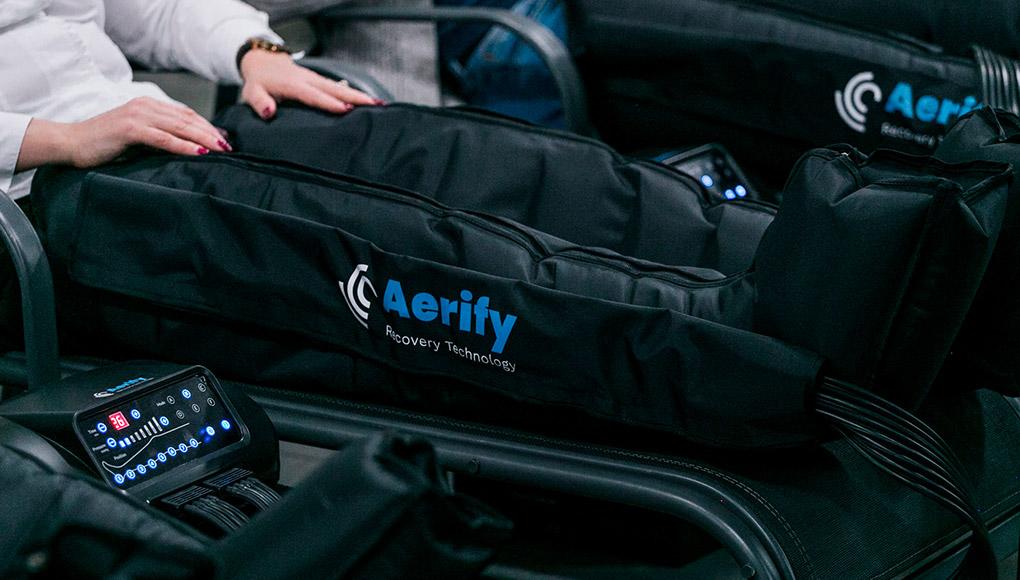 ¡Recupera con Aerify Recovery! Recupérate desde casa como un atleta profesional sin ir al fisio