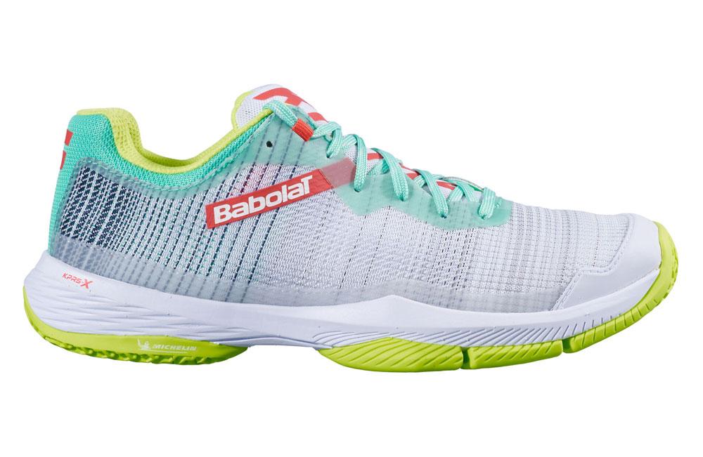 Las zapatillas Babolat Jet Ritma son un calzado muy transpirable para los meses de calor