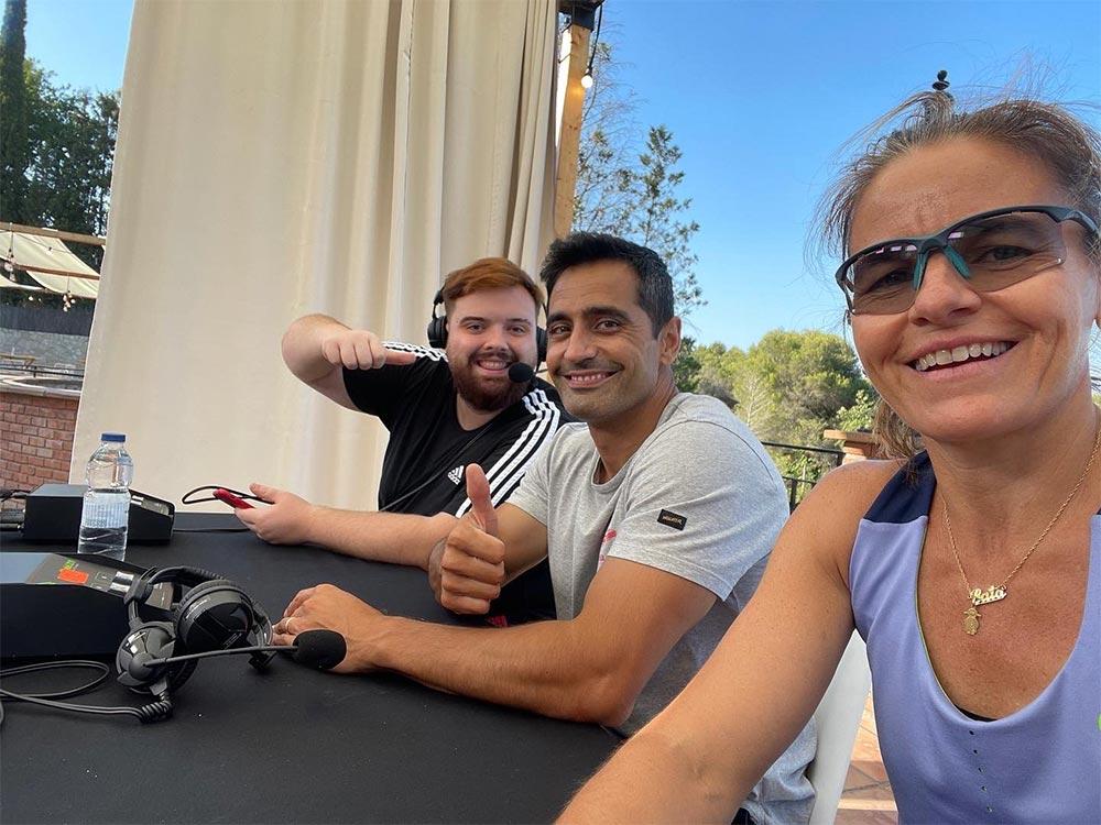 Cata Tenorio y Manu Martín acompañaron a Ibai en el streaming de El Pádel de las Estrellas