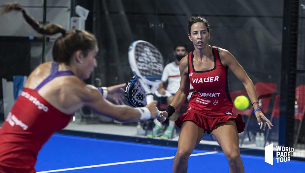 Marta Ortega y Marta Marrero debutaron con victoria en Las Rozas Open