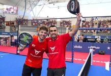 Pablo Lima y Agustín Tapia ganan en Las Rozas Open brillantemente