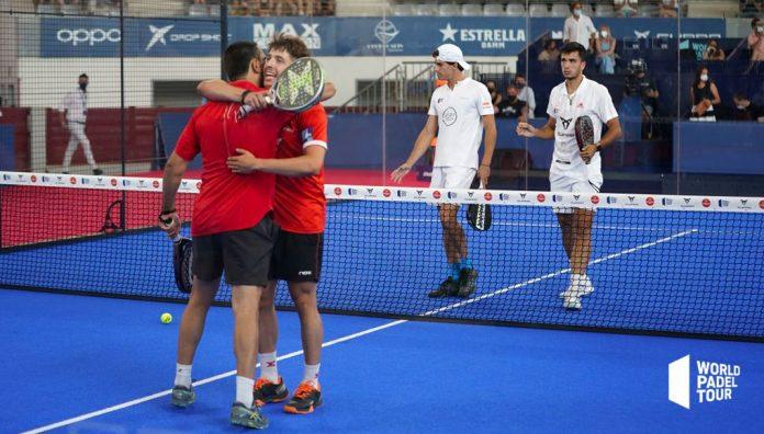 Semifinales de Las Rozas Open: Lima y Tapia vencen a Lebrón y Galán