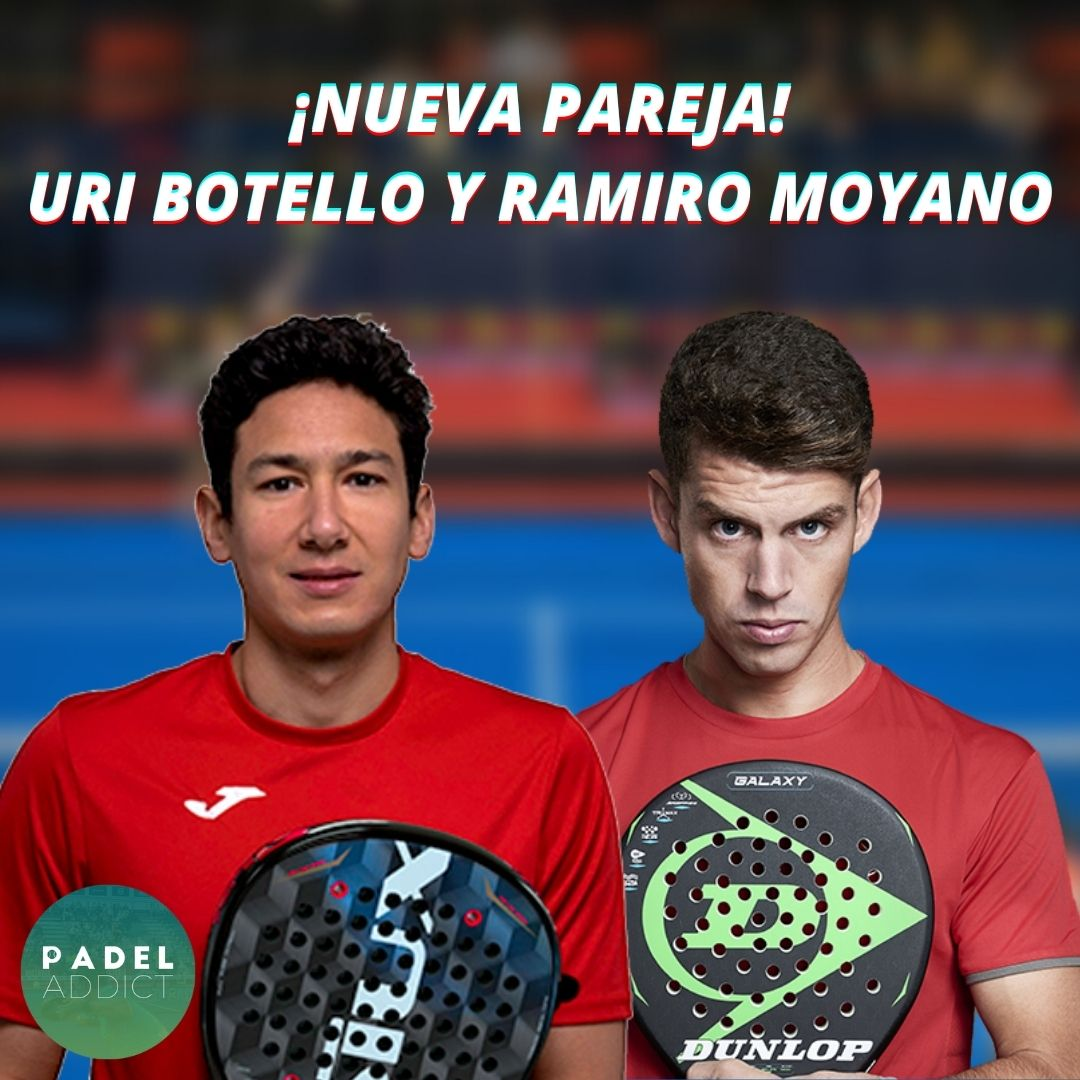 Uri Botello y Ramiro Moyano